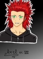 Axel  8D by Cooking-Nana