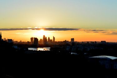 Sunset in Greenwich by Lionpelt-66