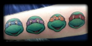 Turtles by state-of-art-tattoo