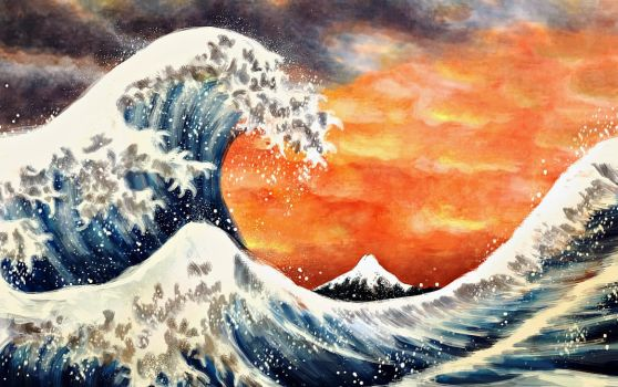 The Great Wave by EpicLoop