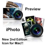 iPhoto, Preview Icon for Mac by ExtendedCreativity
