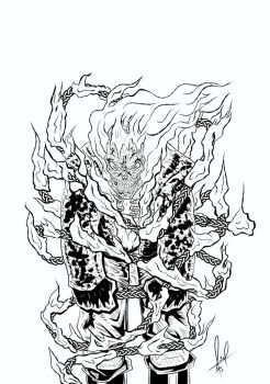 Ghost Rider SoV fire chains by azzh316