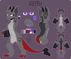 KEITH REFERENCE 2017//OUTDATED by Shiro-Daemon