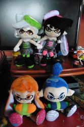 Splatoon Plushies by Robie-Chan
