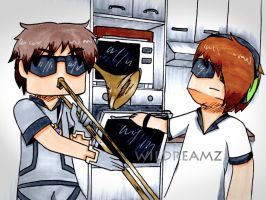 When Squid Isn't Home by Minccifancutie