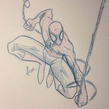 Spidey Sketch #125 by JoeCostantini