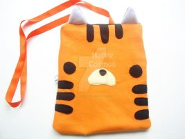 Tiger Zippered Bag by CosmiCosmos