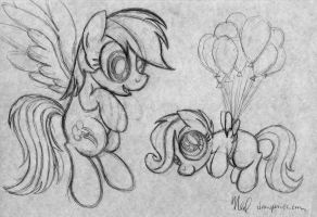 Flying Lessons by artwork-tee