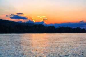 Sunset on the Ohio 2 by Shadowhawk9973