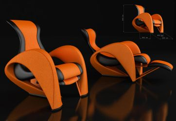 armchair by modelight