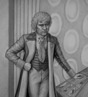 The Sixth Doctor by Lenka-Slukova