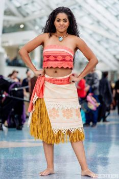 Moana Cosplay Convention shot 2 by xAleux