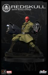 HX-Project Red Skull by mufizal