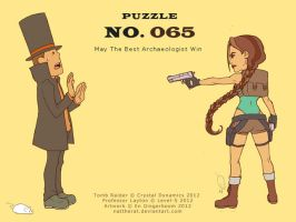 Puzzle 065 - May The Best Archaeologist Win by nattherat