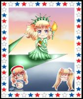 Nyotalia- America statue of liberty by DaisyLovin