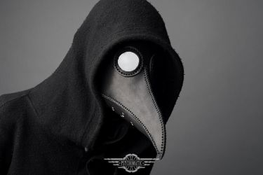 Plague doctor mask by LahmatTea