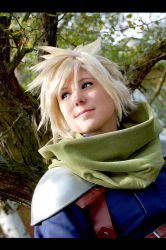 FF7 Crisis Core -  Countryboy by Evil-Uke-Sora