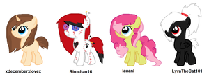 Custom Fillies by iPandacakes