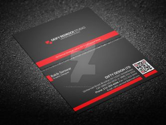 Corporate Simple Business Card Vol: 03 by rakibsarowar