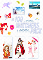 +100'Watchers'Pack by UsagixPyyon