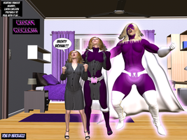 Linda Carlson becomes Mighty Woman TF 1! by mercblue22