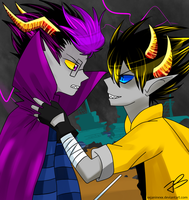 Eridan Ampora x Sollux Captor by Timeless-Knight