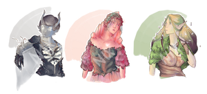 Ladies of the Elements Adopts CLOSED by ScelestaNix