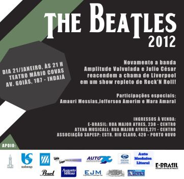 Flyer: The Beatles by chavespapel