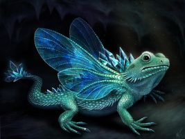 Dragonfly Dragon by mayan-art
