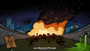 Background image for zombie game menu by cairn4