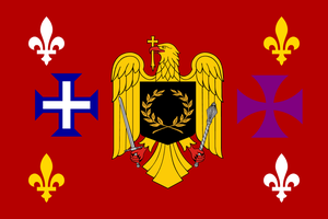 Flag of Romance languages by hosmich