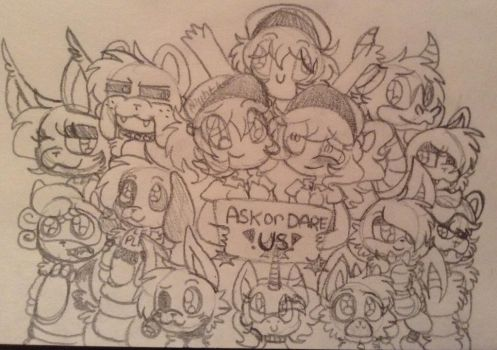 Ask Or Dare My FNAF Oc's !!~ by CreepyGamerGirl2002