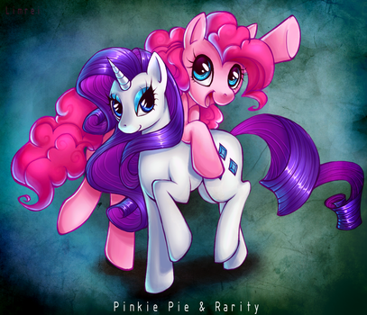 Pinkie - Rarity by LimreiArt
