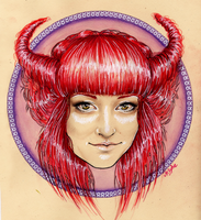 Taurus by MsSophieArt