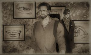 The Evil Within 2 - Sebastian and Stefano by ettan2017