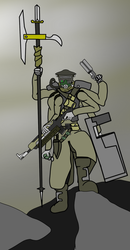 Soldier of the Warsong by MethusulaComics