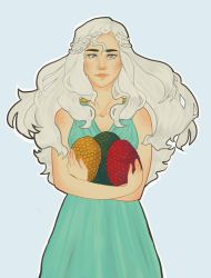 Mother Of Dragons by TheLittleArtist