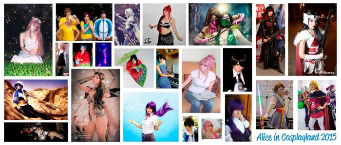 Cosplay summary 2015 by Aliceincosplayland