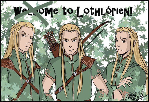 Welcome to Lothlorien by MellorianJ