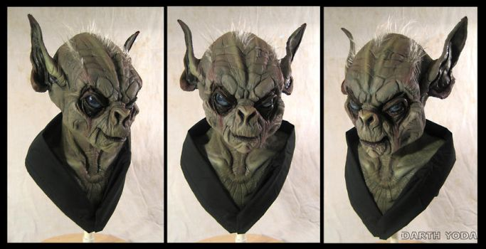 Darth Yoda Tri by SculptorSteve