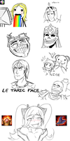 LoL Reaction Faces by Juns94