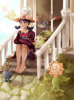 johto journey~ by kkatelyn