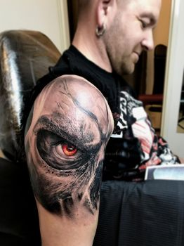 Darksiders Tattoo by SelfmadeTattooBerlin