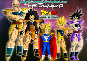 what if Universe 13 Saiyans by ruga-rell