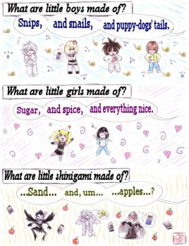 DN Minicomic - A Good Question by Miyukitty