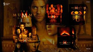 The Mummy Returns (2001) Folder Icon #1 by sebasmgsse