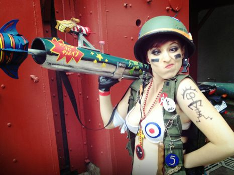 Tank Girl Cosplay by RedBiter