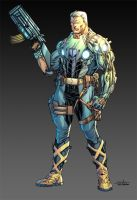 Cable - Boooom colors by SpiderGuile