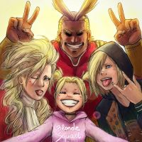 Blonde Squad - crossover by Feramis