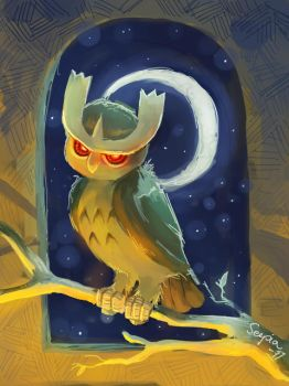 Noctowl by seepia
